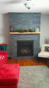 Installed Fireplace